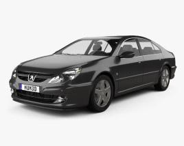 3D model of Peugeot 607 2004