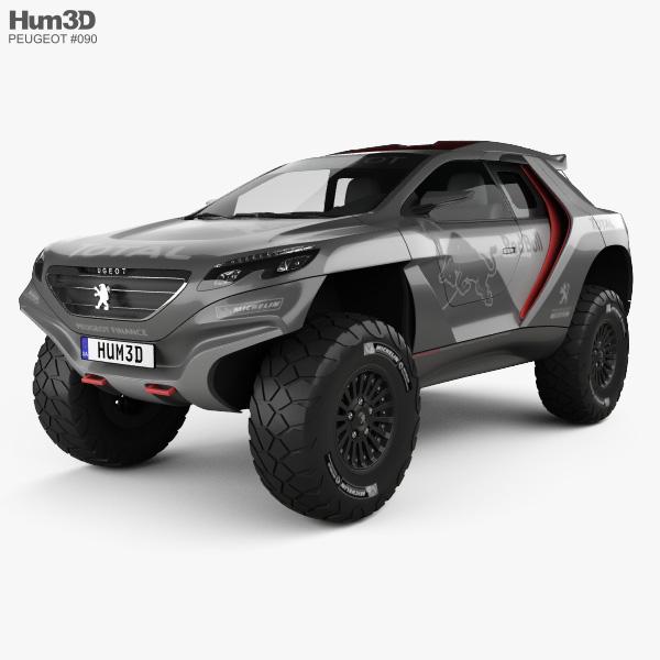 Peugeot 2008 DKR 2014 3D model