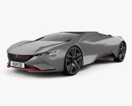 3D model of Peugeot Vision Gran Turismo 2015
