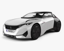 3D model of Peugeot Fractal 2015