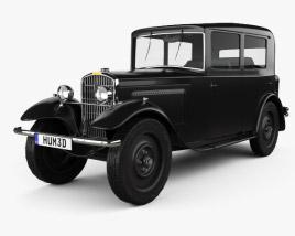 3D model of Peugeot 201 1929