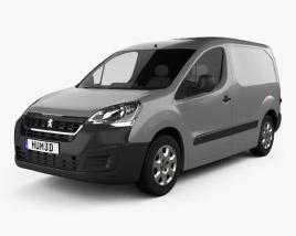 Peugeot Partner Van 2015 Modèle 3D