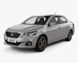 3D model of Peugeot 301 2017