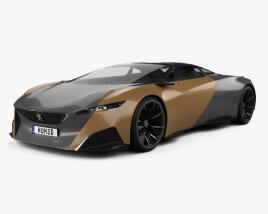 3D model of Peugeot Onyx 2012
