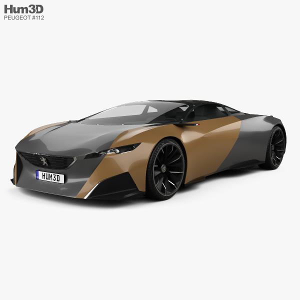 Peugeot Onyx 2012 3D model