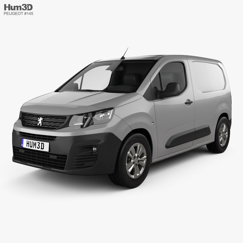 Peugeot Partner 2019 3D model