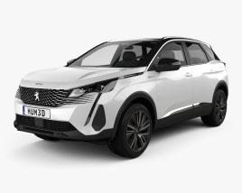 Peugeot 3008 hybrid4 2020 3D model