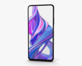 3D model of Honor 9X Magic Night Black