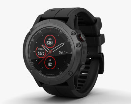 3D model of Garmin Fenix 5x Plus
