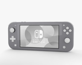 3D model of Nintendo Switch Lite Gray