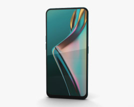 3D model of Oppo K3 Jade Black
