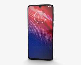 3D model of Motorola Moto Z4 Flash Grey
