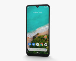 3D model of Xiaomi Mi A3 More than White