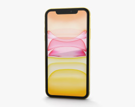 3D model of Apple iPhone 11 Yellow