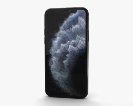 3D model of Apple iPhone 11 Pro Space Gray
