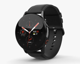 3D model of Samsung Galaxy Watch Active 2 40mm Stainless Steel Black