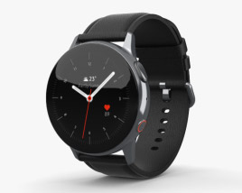 Samsung Galaxy Watch Active 2 40mm Stainless Steel Silver 3D model