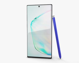 3D model of Samsung Galaxy Note10 Aura Glow