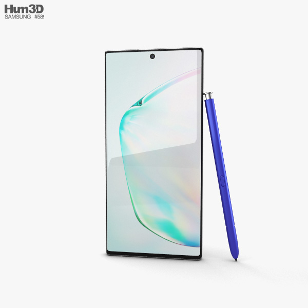 Samsung Galaxy Note10 Aura Glow 3D model