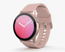 3D model of Samsung Galaxy Watch Active 2 40mm Aluminium Pink Gold