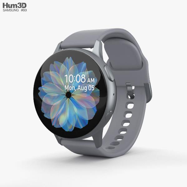 Samsung Galaxy Watch Active 2 44mm Aluminium Cloud Silver 3D model
