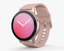 3D model of Samsung Galaxy Watch Active 2 44mm Aluminium Pink Gold