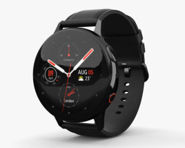 3D model of Samsung Galaxy Watch Active 2 44mm Stainless Steel Black