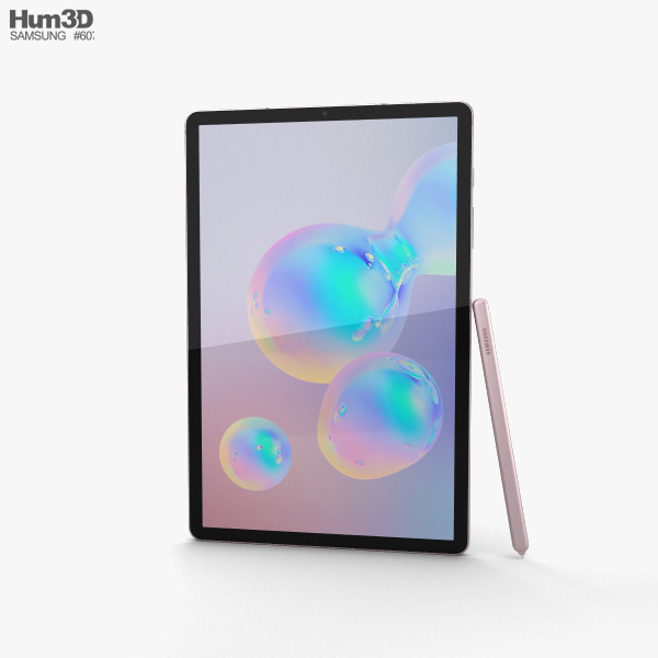 Samsung Galaxy Tab S6 Rose Blush 3D model