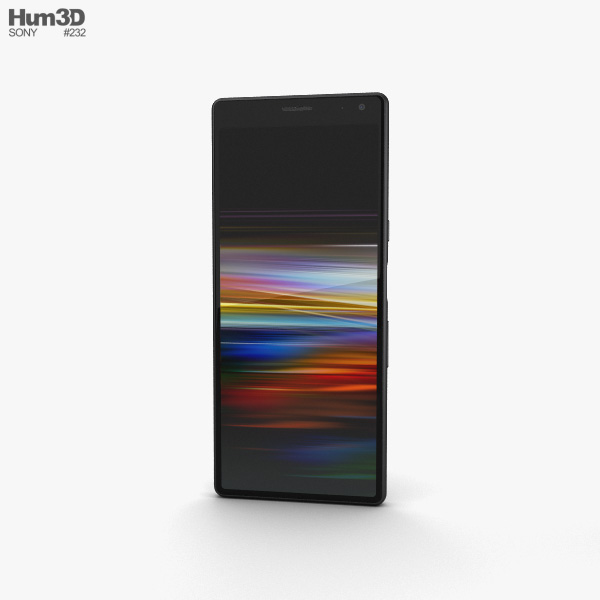 Sony Xperia 10 Black 3D model