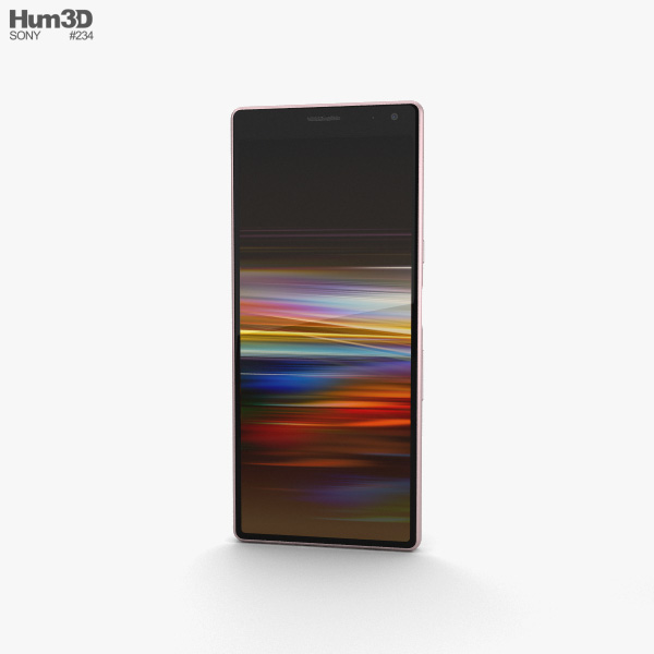 Sony Xperia 10 Pink 3D model