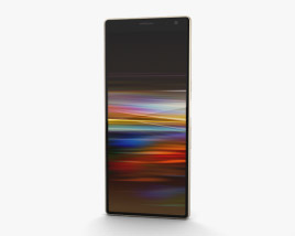 Sony Xperia 10 Plus Gold 3D model