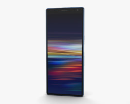 3D model of Sony Xperia 10 Plus Navy