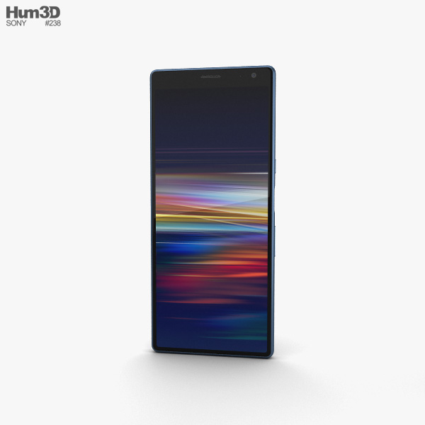 Sony Xperia 10 Plus Navy 3D model