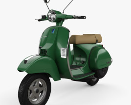 3D model of Piaggio Vespa PX 125 2012