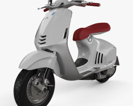 3D model of Piaggio Vespa 946 2013