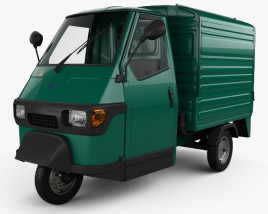 3D model of Piaggio Ape 50 1996