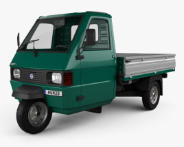 3D model of Piaggio Ape TM Pickup 1982