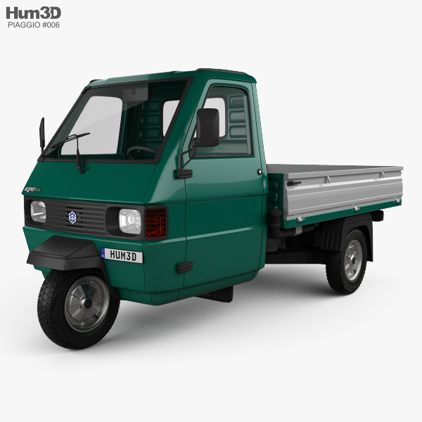 3D model of Piaggio Ape TM Pickup 1982