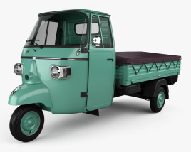 3D model of Piaggio Ape C 1956