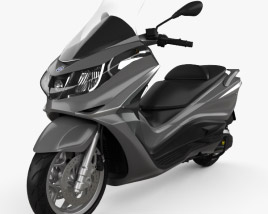 3D model of Piaggio X10 350 2013