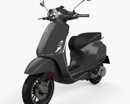 3D model of Piaggio Vespa Sprint 2016