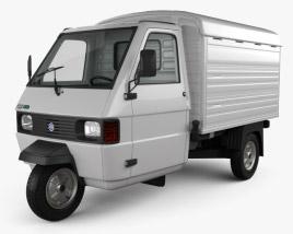 3D model of Piaggio Ape TM Panel Van 2016