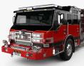 Pierce E402 Pumper Fire Truck 2014 3d model