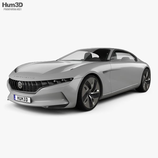 Pininfarina HK GT 2018 3D model