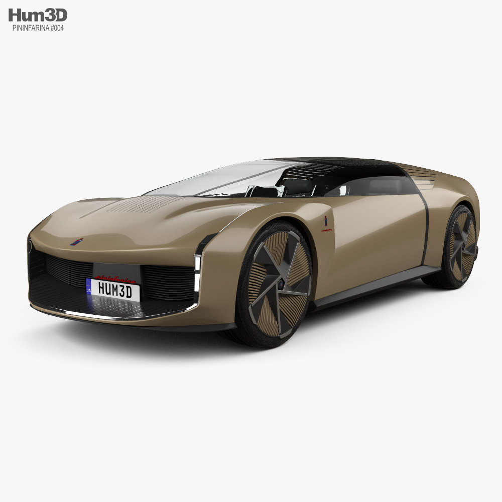 Pininfarina Teorema 2021 3D model