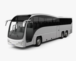 3D model of Plaxton Elite NZ-spec Bus 2017