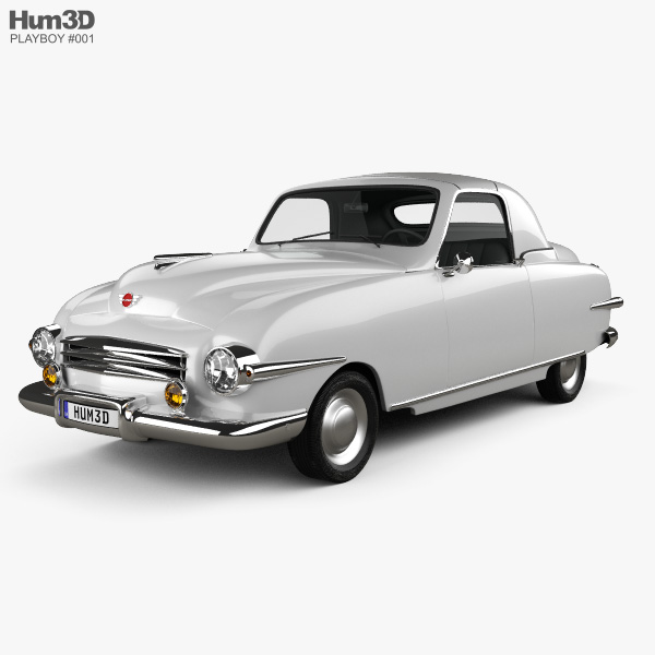 3D model of Playboy Convertible 1951
