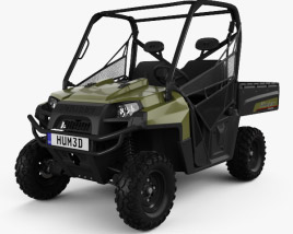3D model of Polaris Ranger Diesel 2014