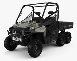 3D model of Polaris Ranger 6x6 2014