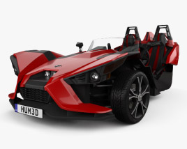 3D model of Polaris Slingshot 2015